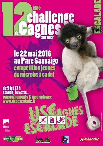 Affiche Challenge Cagnes 2016